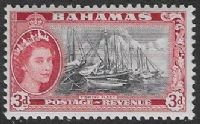 Bahamas SG205 1954 Definitive 3d unmounted mint